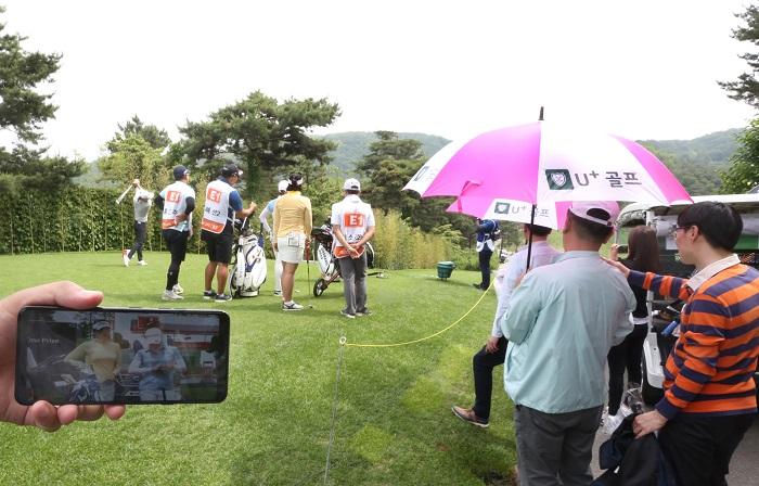 LG유플러스, 골프중계서비스'진화'…고가요금제 가입자 확대