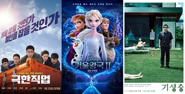 2019년 천만영화 5편…'탈공식'이 승패 갈랐다 - 이뉴스투데이